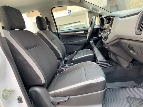 chevrolet s10 doble cabina  4x2 manual 2017