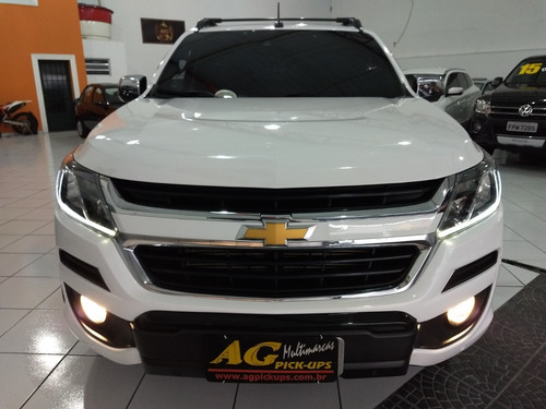 chevrolet s10 high country 2017 branca top 4x4 2.8 die 14km