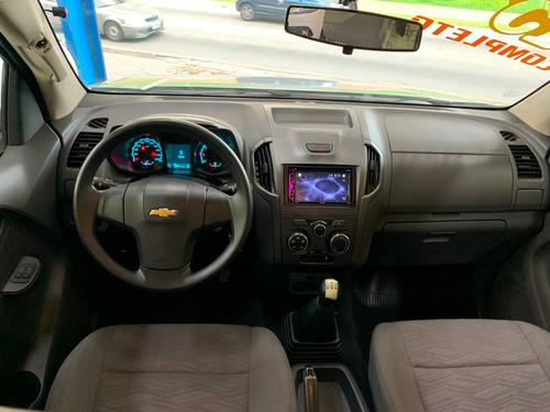 chevrolet s10 ls cabine dupla 2.4 4x2 2015 - completa