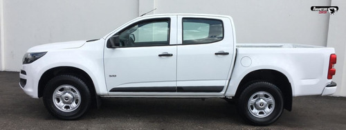 chevrolet s10 ls doble cabina a/ac r-16 blanco 2017