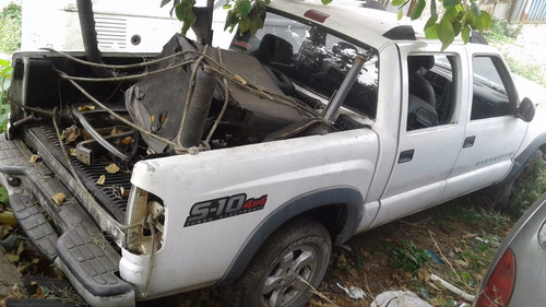 chevrolet s10 sucata para retirada de peças - planeta motor