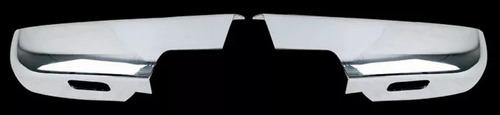 chevrolet silverado 2007 - 2013 cubre espejos cromados infer