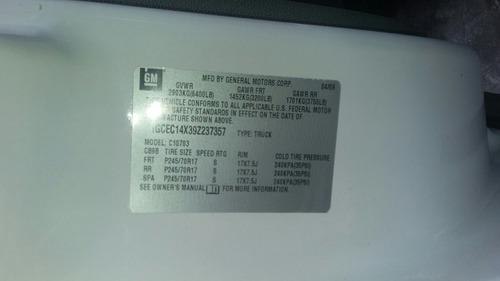 chevrolet silverado 2009 atm v8 5.3 lit venta de partes 2009