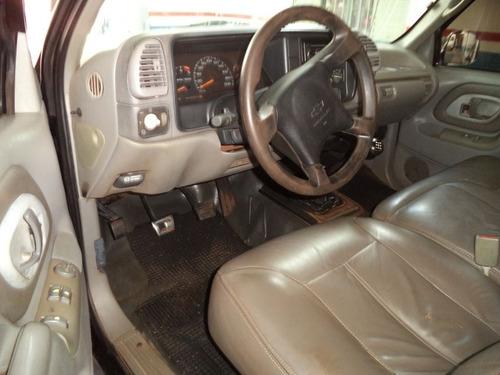 chevrolet silverado d20 2001 preta diesel