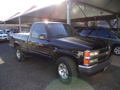 chevrolet silverado d20 4.2 2001 preta diesel