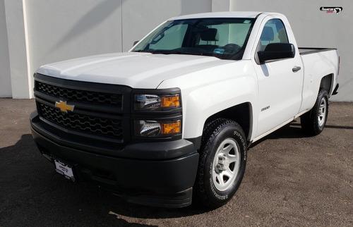 chevrolet silverado pickup 2500 blanco 2015