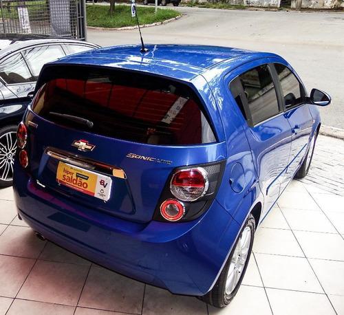 chevrolet sonic 1.6 16v ltz automático 4p 2012 flex
