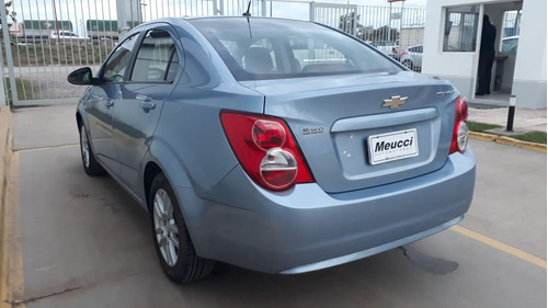 chevrolet sonic 1.6l lt mt color celeste año 2012