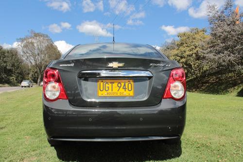 chevrolet sonic lt aut. sedán - 2015 - placa par de bogotá