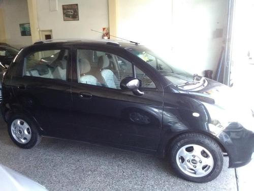 chevrolet spark 1.0 lt, negro, año 2011, 5 puertas