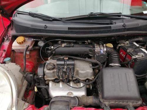 chevrolet spark 1000 cc rojo