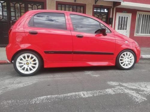 chevrolet spark 2011 1.0 l rojo