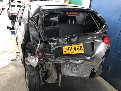chevrolet spark 2018 accidentado