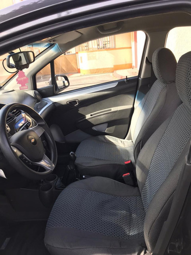 chevrolet spark gt full equipo gris galapago
