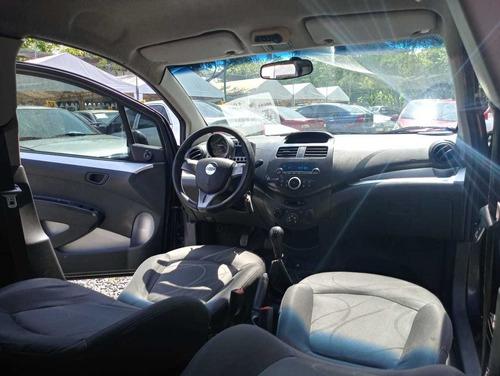 chevrolet spark gt motor 1.2 2011 gris galapago 5 puertas