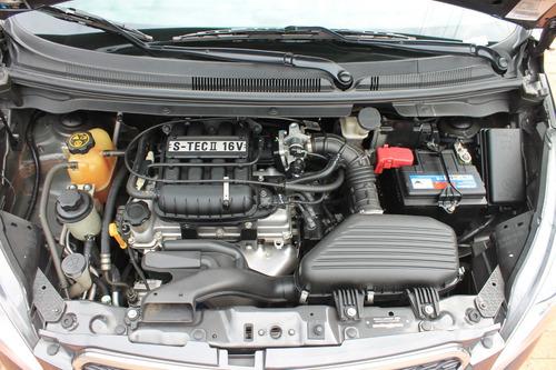 chevrolet spark gt motor 1.2 2016 gris meteoro 5 puertas