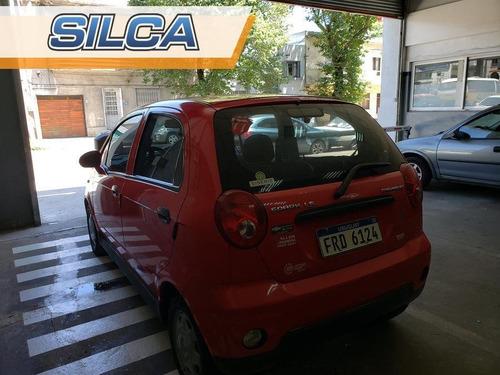 chevrolet spark ls 2012 rojo 5 puertas