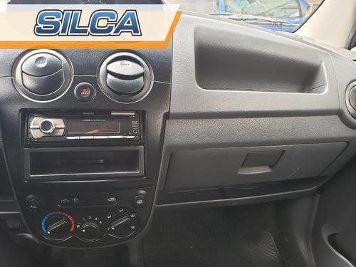 chevrolet spark ls 2013 gris plata 5 puertas