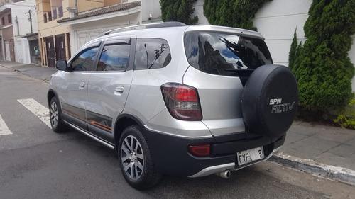 chevrolet spin 1.8 activ 5l aut. 5p 2016 prata completo