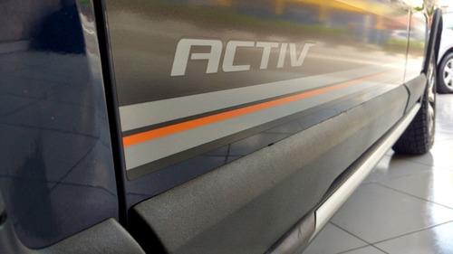 chevrolet spin 1.8 activ aut. único dono 2016 azul