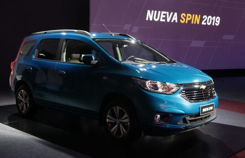 chevrolet spin 1.8 activ ltz at 2019 cuotas fijas #8