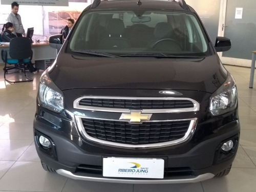 chevrolet spin 1.8 active at. 2015 preta flex