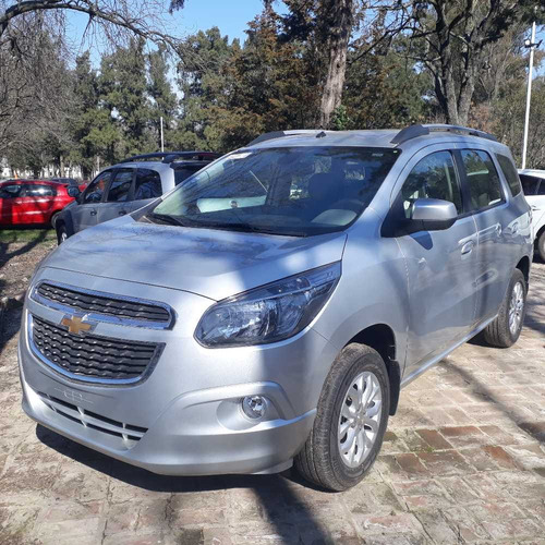 chevrolet spin 1.8 ltz 5as unidad al costo 570.000 + gastos