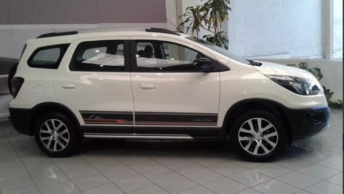 chevrolet spin activ 1.8 nafta manual 5 puertas 0km*
