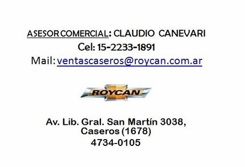 chevrolet spin ltz 7 asientos m/t y a/t 0 km 2017 roycan sa