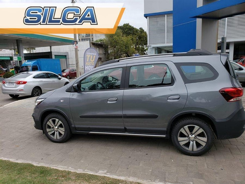 chevrolet spin spin activ at 2019 gris oscuro 0km