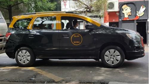 chevrolet spin taxi 2016 con licencia