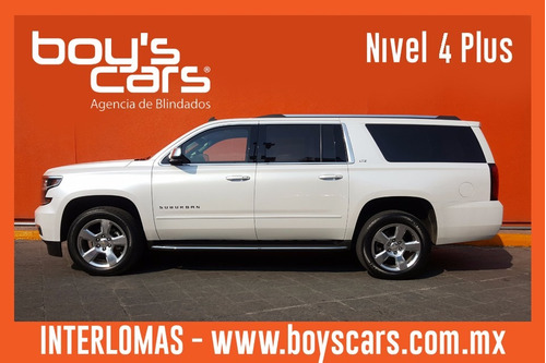 chevrolet suburban 2016 blindada nivel 4 plus