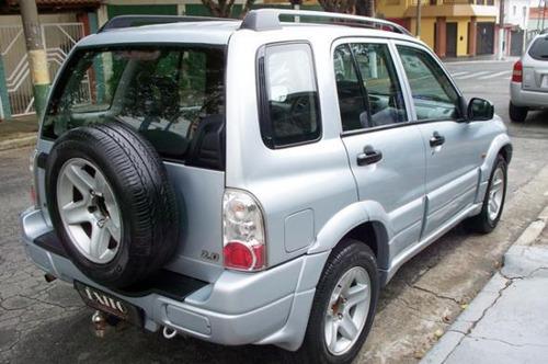 chevrolet tracker 2.0 4x4 prata 2008