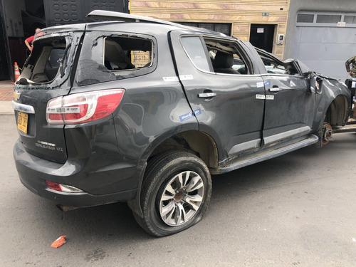 chevrolet trailblazer 2017 diesel, accidentada