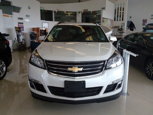chevrolet traverse 3.6 lt piel at aeroplasa auto