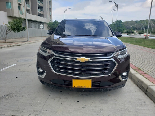 chevrolet traverse aut 4x4 modelo 2018
