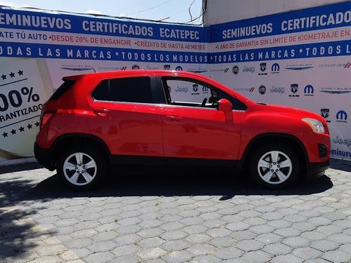 chevrolet trax lt ta rojo 2015