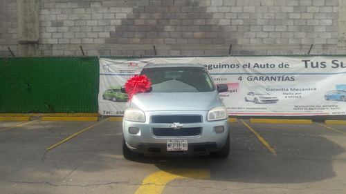 chevrolet uplander b extendida aac at (enganche)
