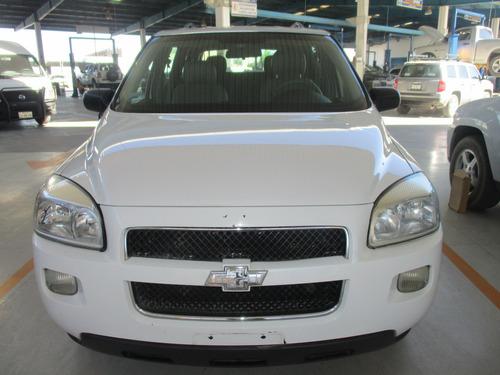 chevrolet uplander regular, 6 cil, color blanco, modelo 2008
