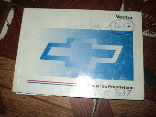 chevrolet vectra 1996 manual proprietario
