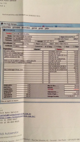 chevrolet vectra 2.4 16v elite flex power aut. 4p, impecável