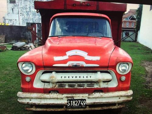 chevrolet viking 6500 1957 todo original coleccion pro seven