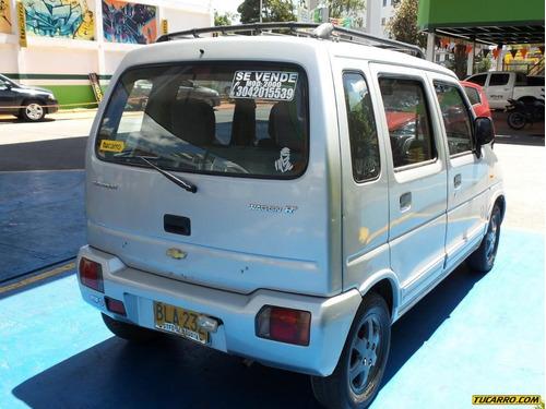 chevrolet wagon r +