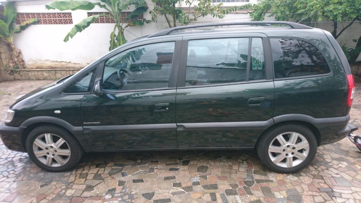 Chevrolet Zafira 2 0 Elegance 2009 2010 8v R 26 500 Em Mercado