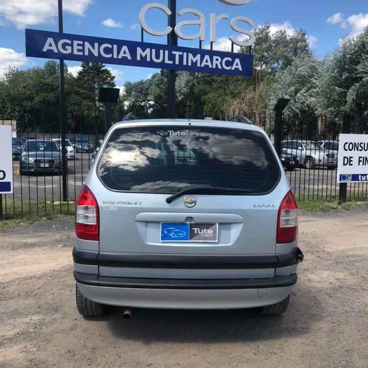 Chevrolet Zafira 20 Gls 116hp 235000 En Mercado Libre