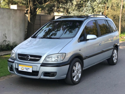 chevrolet zafira 2.0 gls 7 asientos dvd 2006 g pfaffen autos