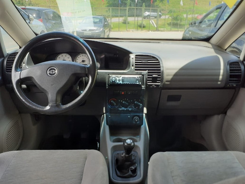 chevrolet zafira 2.0 mpfi cd 16v gasolina 4p manual