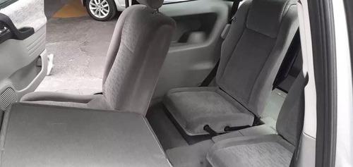 chevrolet zafira 2004 2.0 gls 7 plazas gris siete asientos