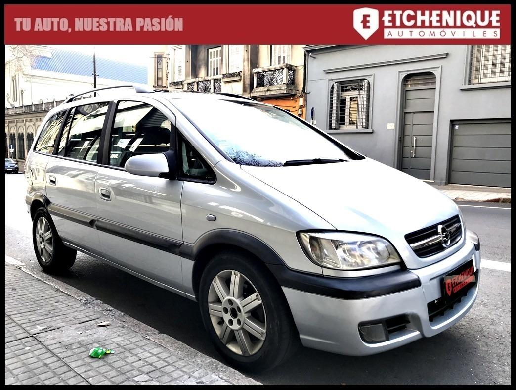 Chevrolet Zafira Cd 20 7 Pasajeros Extra Full Etchenique U S 7 900 En Mercado Libre