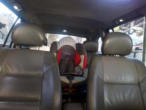 chevrolet zafira gls 2.0 2008 con gnc bajo chasis 7 asientos